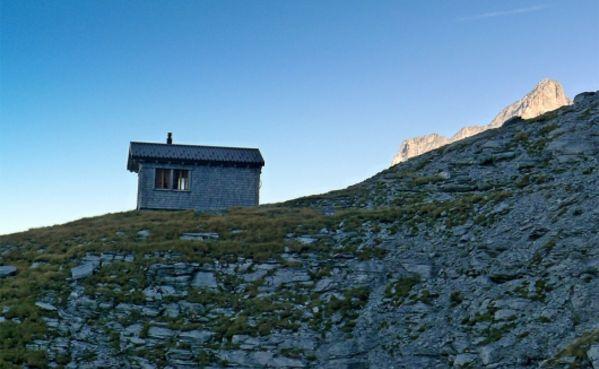 Klettersteig Ostegghütte : Klettersteig ostegg eiger