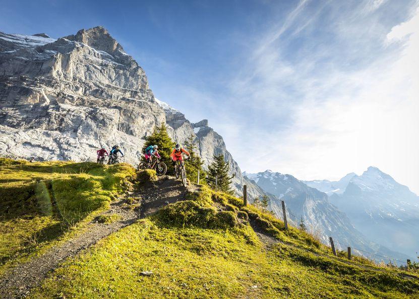 Mountainbike - Trails und Freeride-Strecken in der Jungfrau